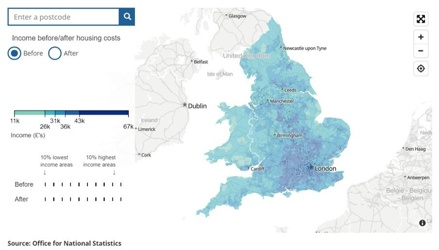 Map Income
